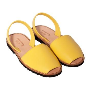 chaussure-junior-jaune