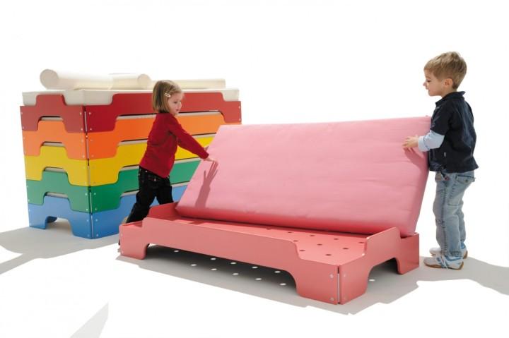 het stapelbed voor kinderen is er in heel veel kleuren