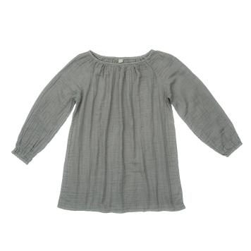 numero-74-nina-mum-short-dress-zilver-grijs-1